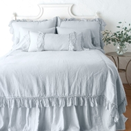 Bella Notte Linen Whisper Coverlet